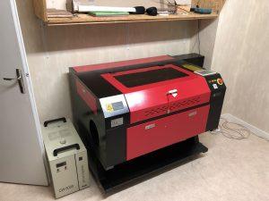 Découpeuse laser KH-750
