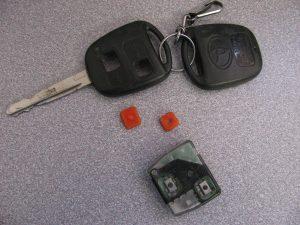 Boutons de clef - éclaté